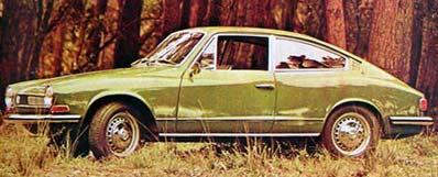 Karmann-Ghia, esportivo inspirado no Porsche 911